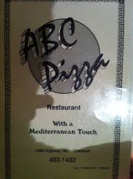 The Gathering Table Chiefland Fl Abc Pizza Restaurant Menu Menu For Abc Pizza Restaurant