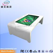 game table with diy multi touch screen buy coffee cost