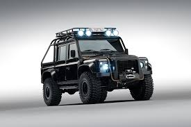 land rover defender 2015 black photo land rover 2015 defender 110 007 spectre james bond black