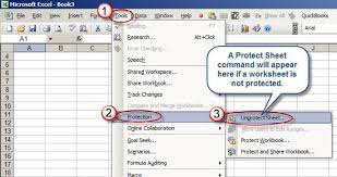 is this excel worksheet protected accountingweb