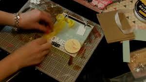 chipboard albums mini chipboard album tutorial