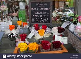 florists in roses on sale outside a florists in tours stock