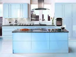Blue Kitchen Cabinets Interior Decoration Blue Kitchen Cabinets The Kitchen Interior