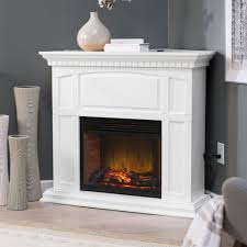 fireplace intriguing electric fireplace heater with white mantel