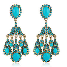 turquoise earrings kenneth socialite turquoise earrings hauteheadquarters
