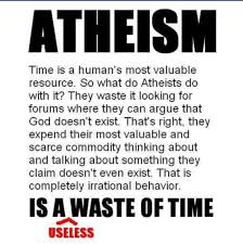 images about Atheism And Evolution Are False  The Word of      atheism is a useless waste of time