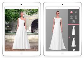 design a wedding dress wedding dress studio enables brides virtually try on wedding dresses