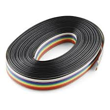 ribbon cable 10 wire 15ft computers accessories