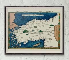 World Map Prints by Tabvla Nova Asia Minoris Print U2013 Early Map Of Turkey New Asian