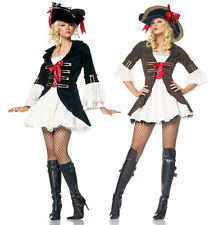 Pirates Caribbean Halloween Costume Women U0027s Pirate Fancy Dress Ebay