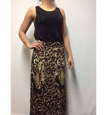 lange rok lange rok doris leopard its given g02510503 mkfashion nl
