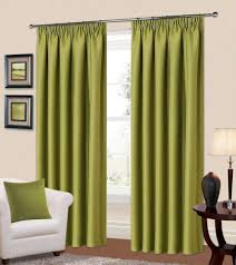 Livingroom Curtains Green Living Room Curtains Impressive Green Curtains For Living