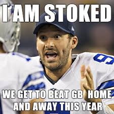 Tony Romo Meme Images - 2014 2015 nfl playoff battle of memes aaron rodgers vs tony romo