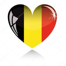 Belgian Flag Vector Heart With Belgium Flag U2014 Stock Vector Soland 2006665
