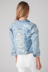 light wash denim jacket womens womens distressed denim jacket ladies 100 cotton stone wash denim