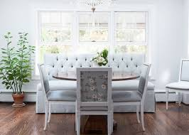 tufted dining bench contemporary dining room sarah