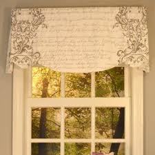 Window Valances Ivory U0026 Cream Valances U0026 Kitchen Curtains You U0027ll Love Wayfair