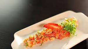 cuisiner avec du gingembre recette homard semoule de chou fleur coriandre et gingembre d