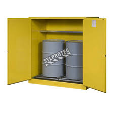 flammable liquid storage cabinet justrite vertical drum storage cabinet for flammable liquids