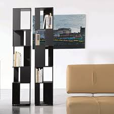 cubic swivel lacquered bookcase arredaclick