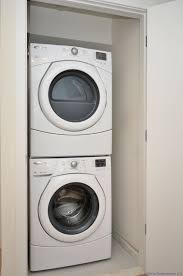 Discount Frigidaire Ffle4033qw 9 3 Cu Ft White Electric Washer Dryer Combo Washer Large Images For Frigidaire Heavy Duty Stacked Washer And