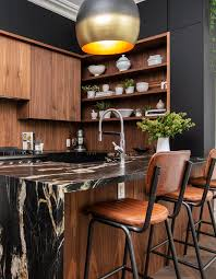 wooden kitchen cabinets modern see how wood cabinets wow in these 60 kitchens bathrooms