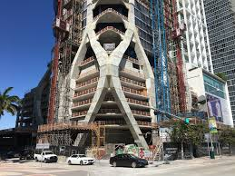one thousand museum one thousand museum continues to rise in miami skyrisecities