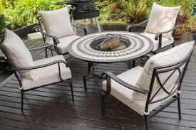 fire pit garden furniture sets garden trends