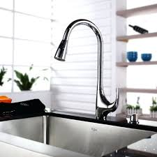 kitchen sink and faucet combinations sinks vessel sink waterfall faucet combo kraus glass vessel sink