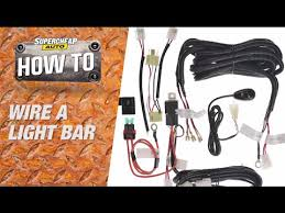 how to wire a light bar supercheap auto youtube