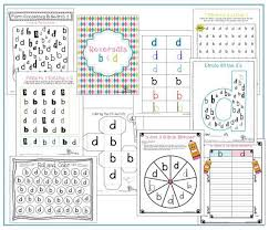 b and d reversals letter reversals and handwriting games