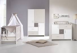 image chambre bebe chambre bébé lit commode armoire beige schardt