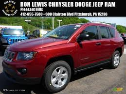 red jeep compass 2015 deep cherry red crystal pearl jeep compass sport 103937904