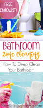 bathroom zone cleaning routine how to deep clean your bathroom