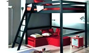 lit en hauteur avec canapé lit mezzanine avec canape lit mezzanine banqute lit mezzanine
