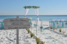 okaloosa island fort walton barefoot weddings barefoot - Fort Walton Weddings
