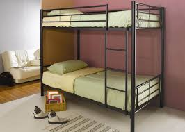 Metal Bunk Bed Frame Metal Bunk Beds Twin Over Full With Ladder U2014 Modern Storage Twin