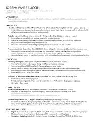 resume by joseph buccini issuu