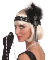 flapper headband deluxe flapper headband backward glances