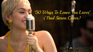 miley cyrus 50 ways to leave your lover backyard sessions 2015