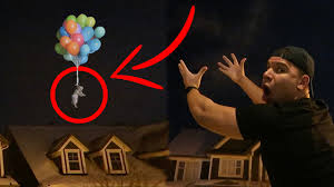 Challenge Tie Or Not Do Not Tie A Puppy To 100 Balloons Impossible