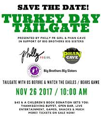 4th annual turkey day tailgate tickets in philadelphia pa united