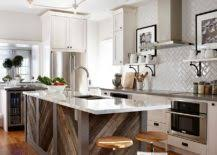 adding an island to an existing kitchen 20 gorgeous ways to add reclaimed wood to your kitchen
