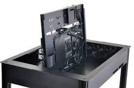 boitier bureau lian li dk q2 évolution en vue pour le boîtier pc en forme de bureau