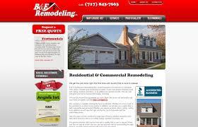 web design for home improvement companies web designer for home