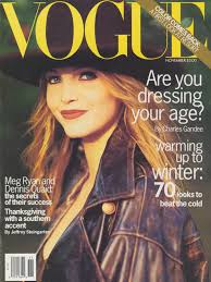 thanksgiving 1993 nadja auermann throughout the years in vogue u2013 voguegraphy