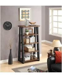 get the deal better homes and gardens mercer 5 shelf tower