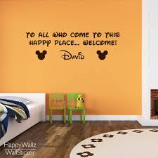 compare prices on baby still life online shopping buy low price minky mouse wall sticker diy baby nursery custom name wall decal kids room quotes wall decor
