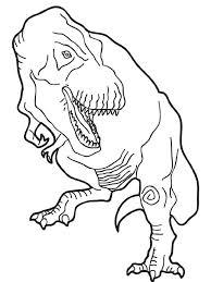 Velociraptor Coloring Pages Tyrannosaurus Coloring Page Coloring Dinosaur Coloring Page