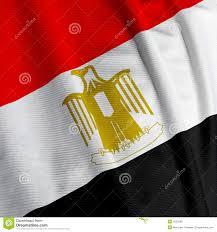 Egypts Flag Egyptian Flag Closeup Stock Photo Image Of Symbol White 4253298